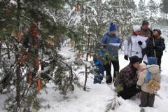 Vánoce s lesní zvěří